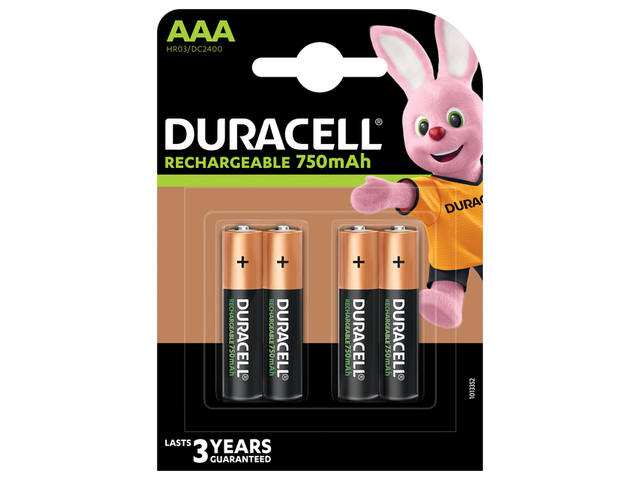 BATTERIJ OPLB DUR AAA 750MAH VALUE STAYCHARGED 1