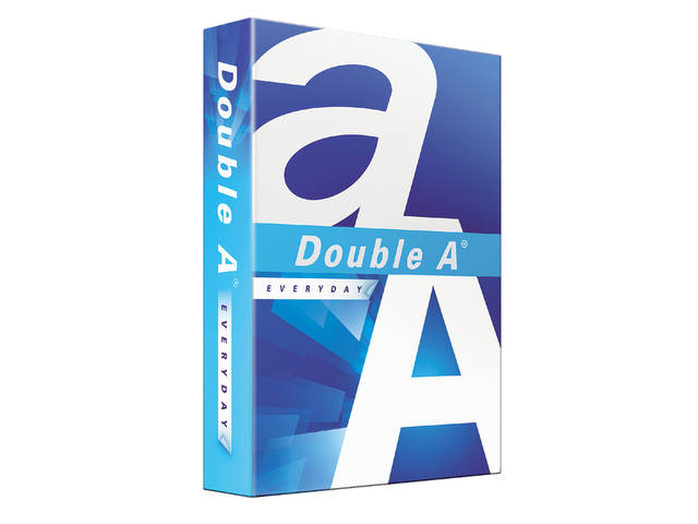KOPIEERPAPIER DOUBLE A EVERYDAY A4 70GR 500VEL WIT 2