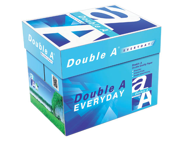 KOPIEERPAPIER DOUBLE A EVERYDAY A4 70GR 500VEL WIT 3